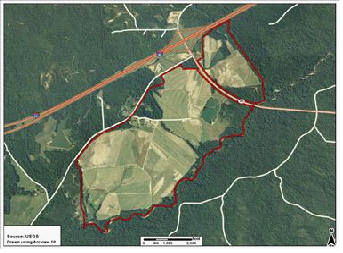 Beck's Turf Farm Map
