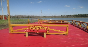 Bench at Lake Tuskegee